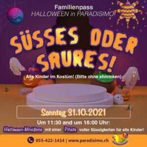 Familienpass Halloween in Paradisimo